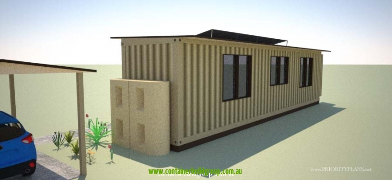 Self contained container homes pop up shops - Ecopod container home ...