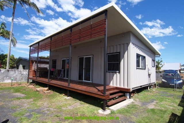 New 2 bed granny flat container homes pop up shops - Container van homes ...