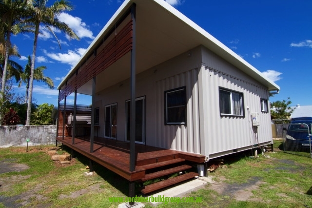 New 2 bed granny flat container homes pop up shops for Prefab granny flat