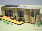 eco pod 2.0 conatiner cabin