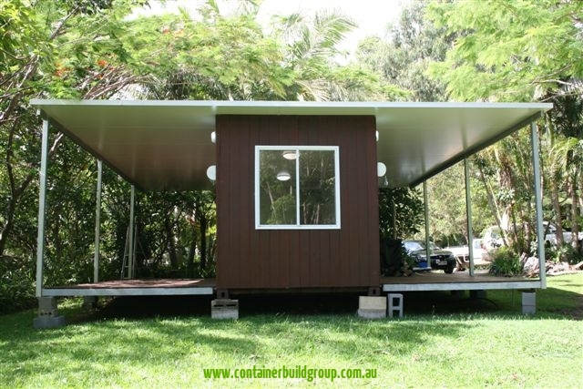 Pop Up Cabins : Stingray cabin ft container homes pop up shops