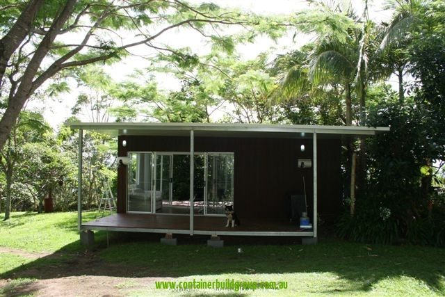 Stingray cabin 20ft container homes pop up shops for Self contained cabin