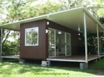 stingray 20ft two verandahs container cabin