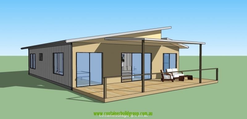 The horizon container homes pop up shops - Container homes queensland ...