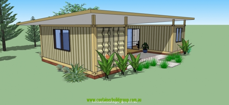 Two Bedroom Modular | Container Homes & Pop-Up Shops