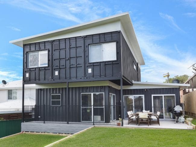 This Cronulla property is another example. Credit- Container Build Group Source-Supplied